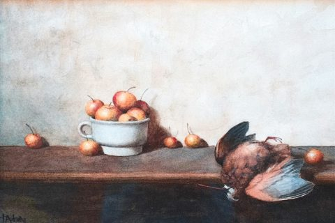 thomas-daly-woodcock-with-apples