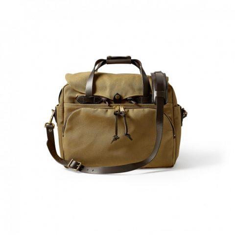Padded Computer Bag-Tan