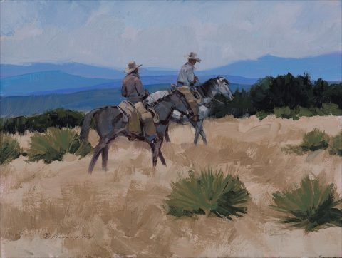 Kim Mackey-Yucca Ridge,9 X 12-$1200