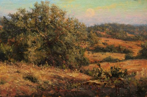 McKenna_Doeskin Ranch Late Afternoon (Study)_Oil on linen_10x15_$2100