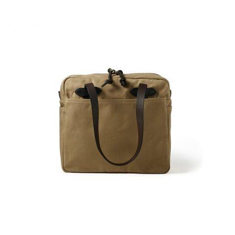 11070261tan-main_1_4 Tote Bag With Zipper
