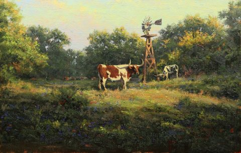 15 Texas Red 18x28 $6550